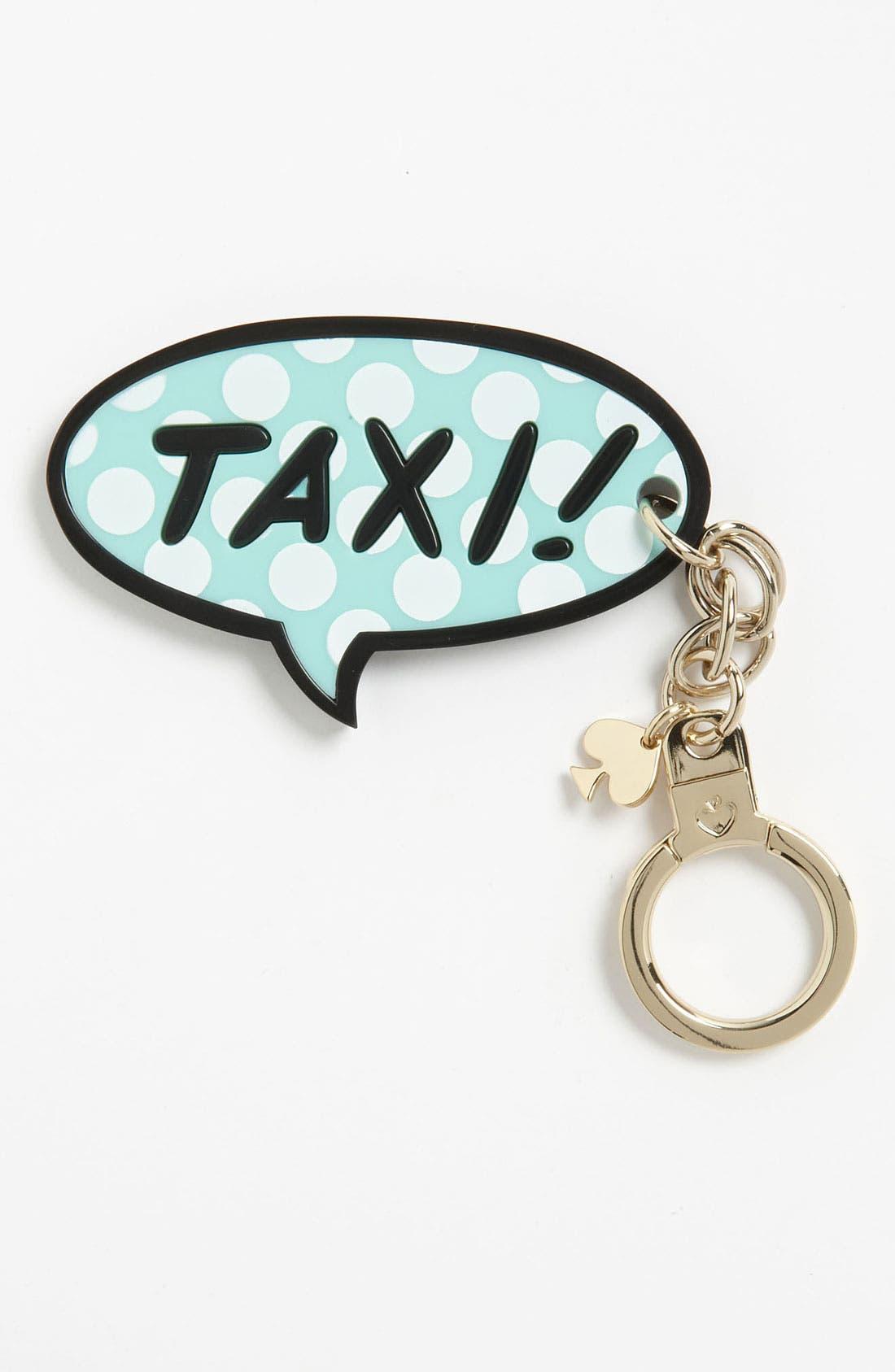 Alternate Image 1 Selected - kate spade new york 'taxi' key ring