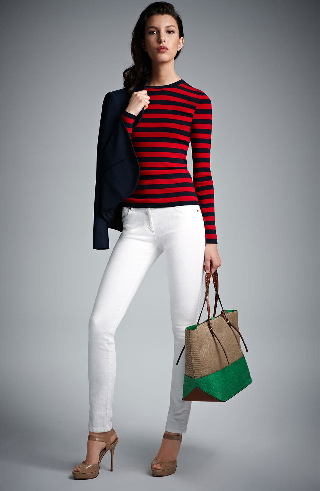 Alternate Image 5  - Michael Kors Stovepipe Stretch Jeans