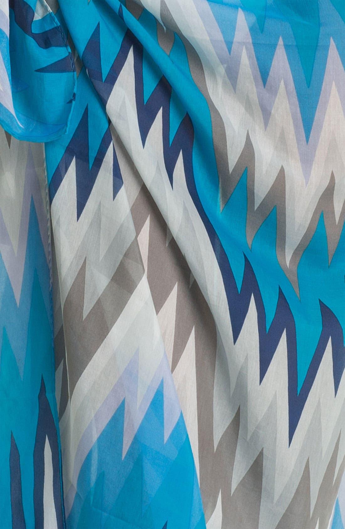 Alternate Image 2  - Jonathan Adler 'Acid Palm' Cotton & Silk Pareo