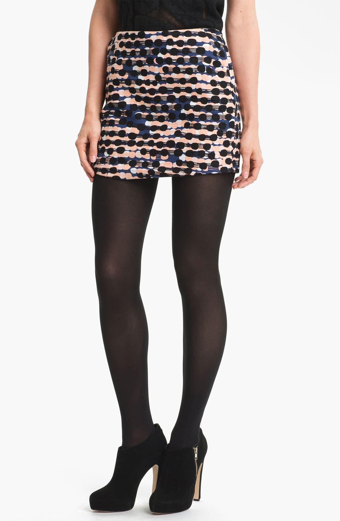 Alternate Image 1 Selected - Diane von Furstenberg 'Nelly' Print Miniskirt