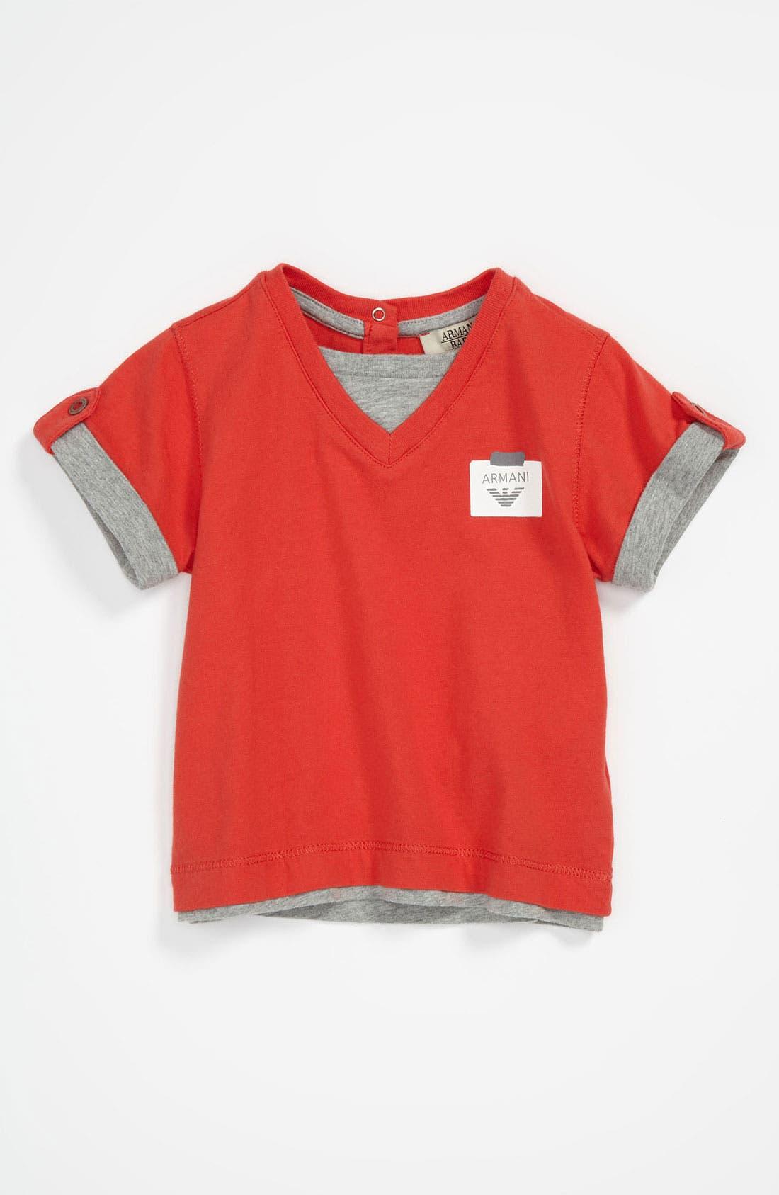 Main Image - Armani Junior T-Shirt (Baby)