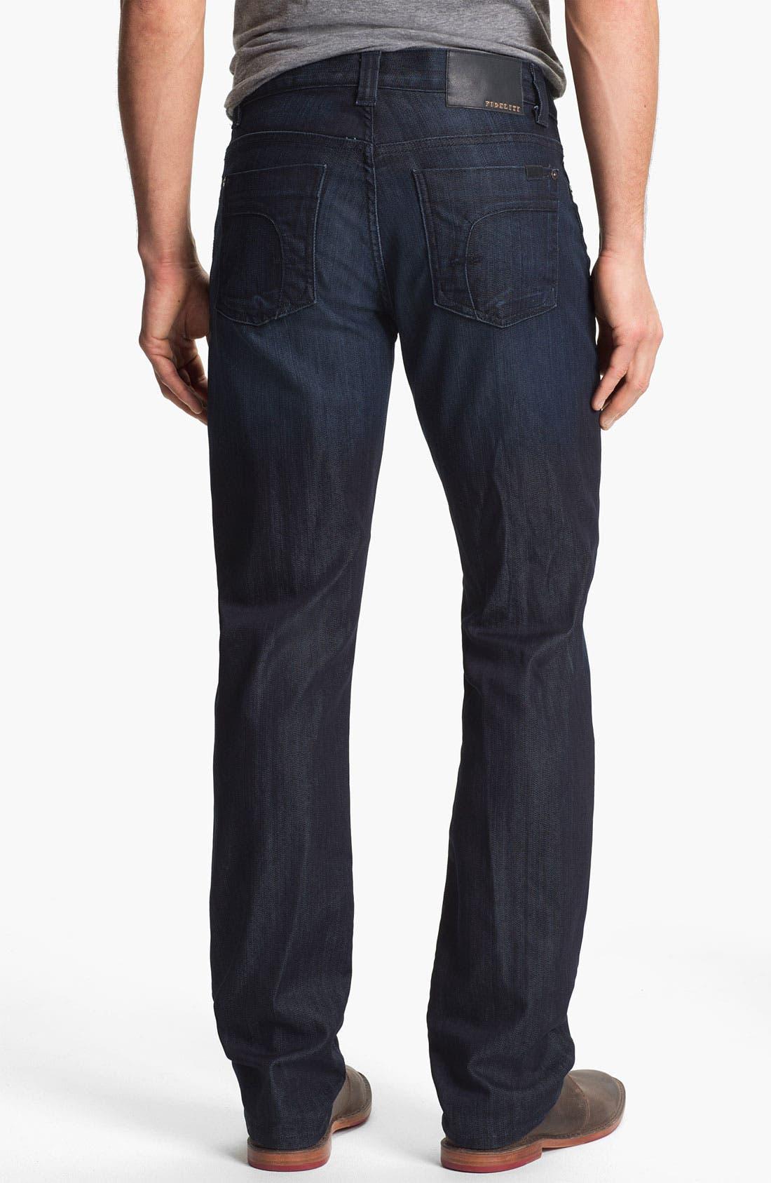 Alternate Image 2  - Fidelity Denim 'Impala' Straight Leg Jeans (Varsity Dark)