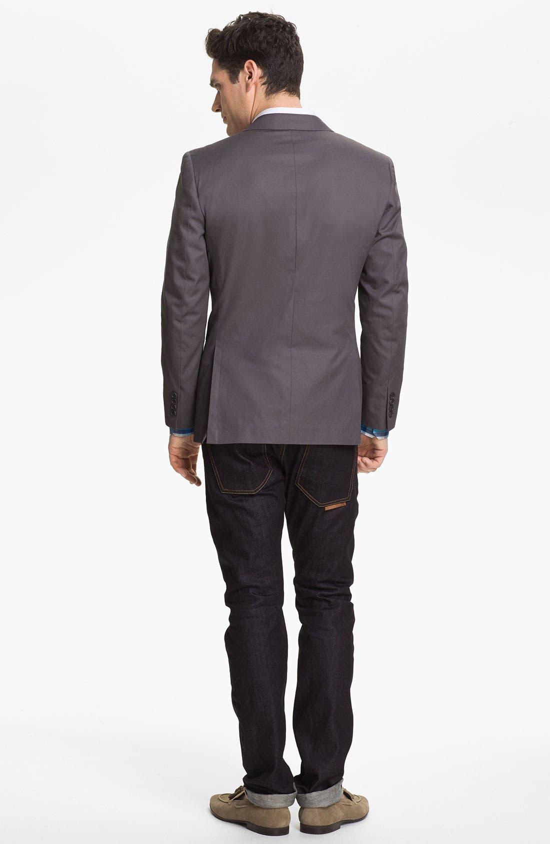 Alternate Image 4  - Bonobos Cotton Blazer