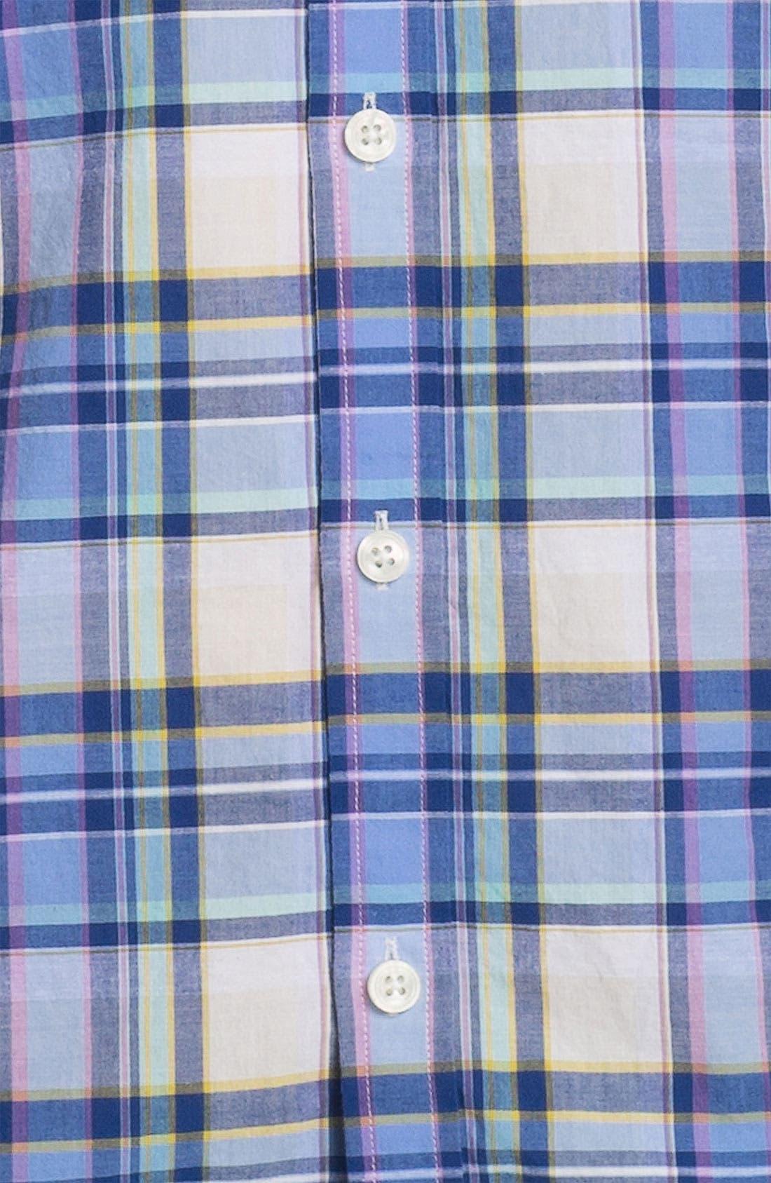 Alternate Image 3  - James Campbell 'Odell Plaid' Sport Shirt