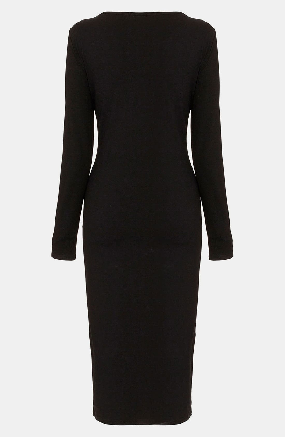 Alternate Image 2  - Topshop Body-Con Maternity Midi Dress