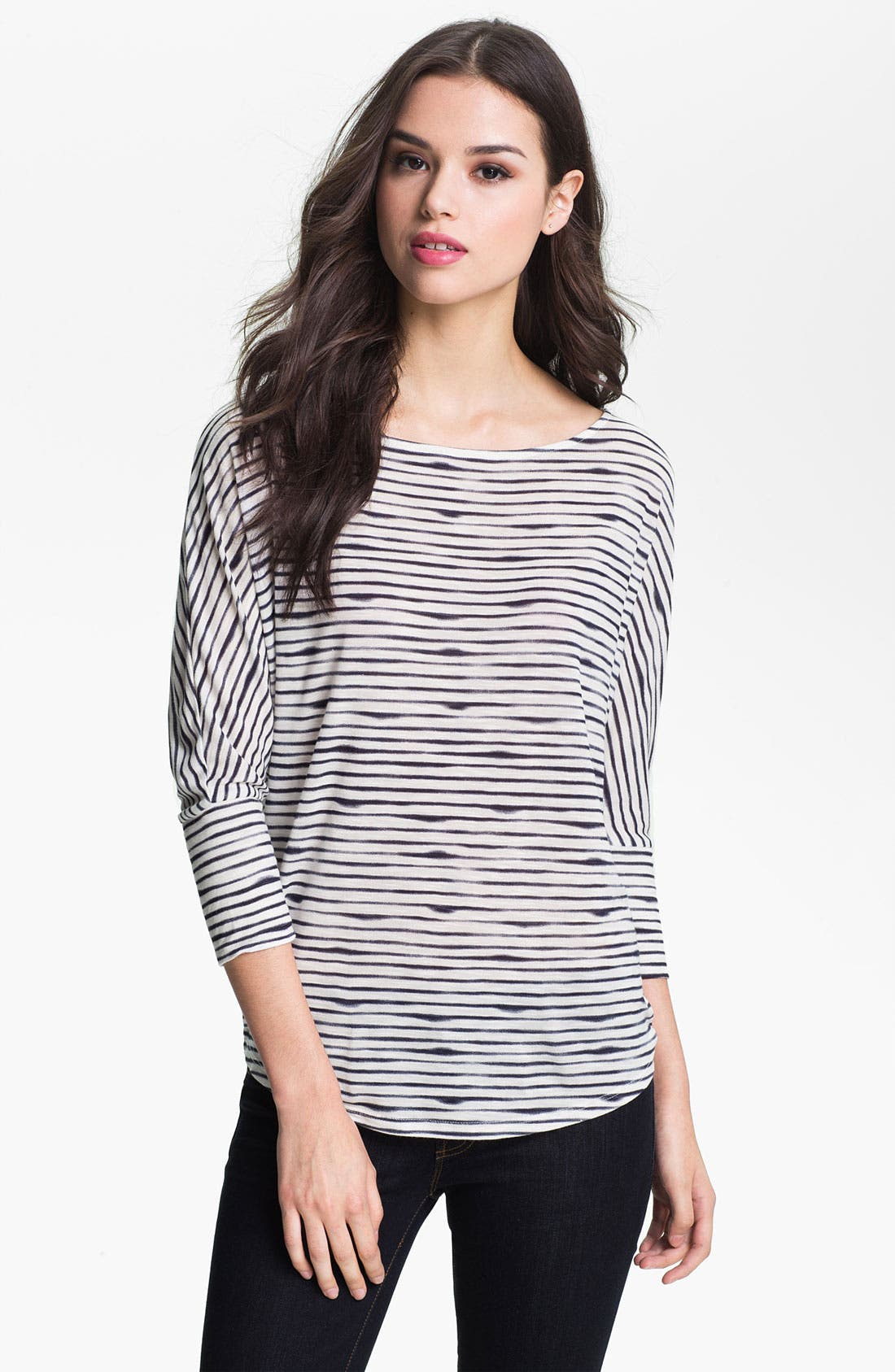 Alternate Image 1 Selected - Soft Joie 'Sagittarius' Stripe Dolman Top