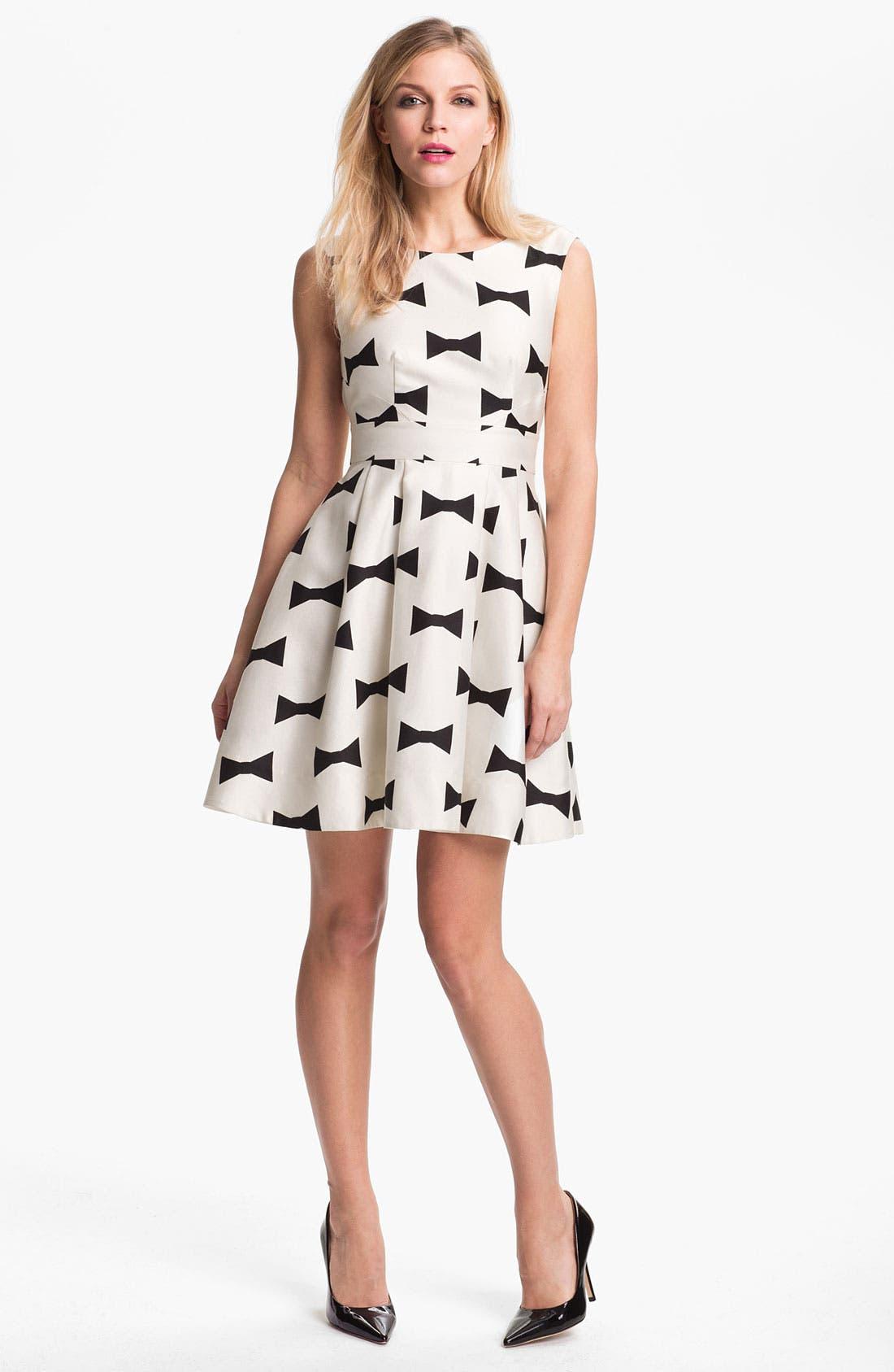 Alternate Image 1 Selected - kate spade new york 'marilyn' fit & flare dress