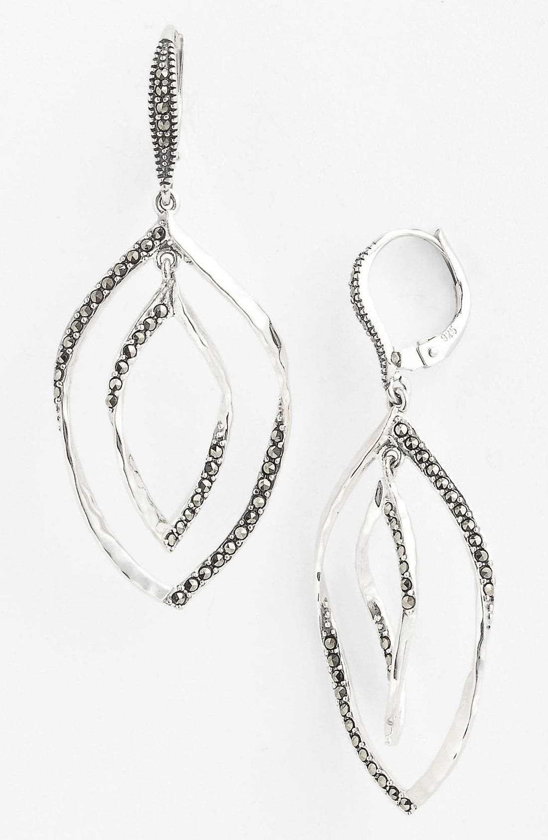 Alternate Image 1 Selected - Judith Jack 'Fluidity' Drop Earrings