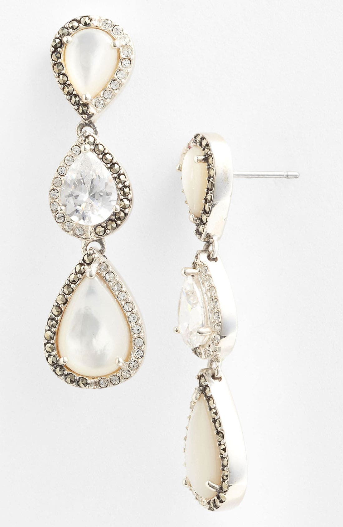 Main Image - Judith Jack 'Amore' Linear Earrings