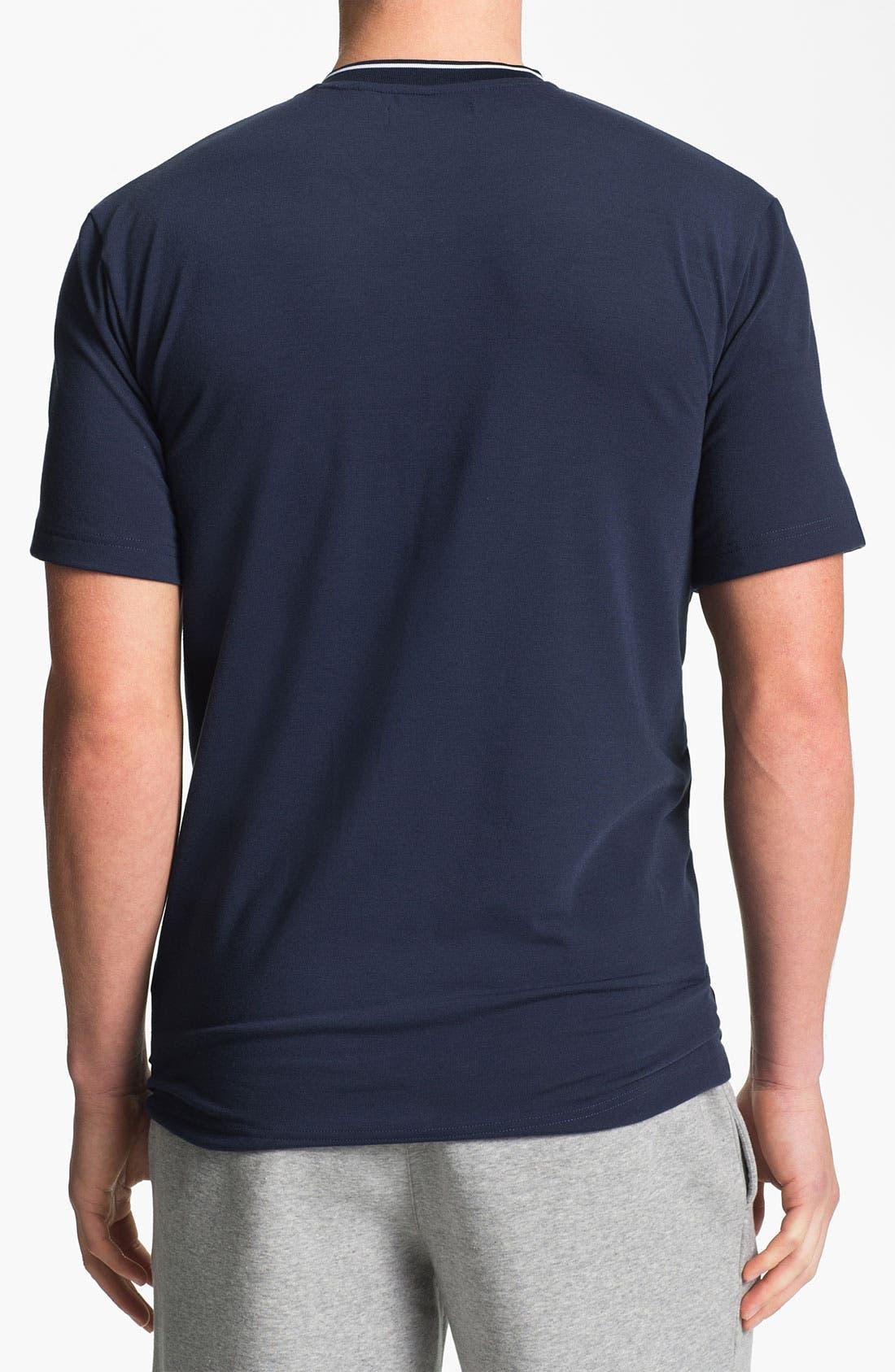 Alternate Image 2  - adidas 'Ultimate' V-Neck T-Shirt