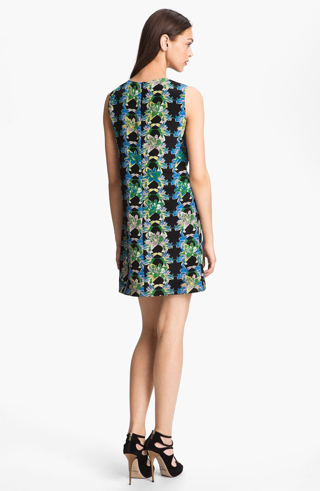 Alternate Image 2  - M Missoni Print Silk Shift Dress