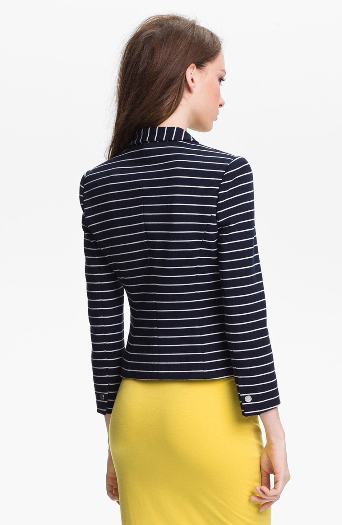 Alternate Image 3  - Vince Camuto Stripe Blazer