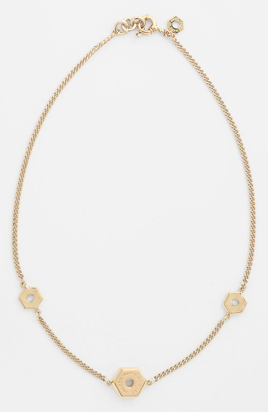 Alternate Image 1 Selected - MARC BY MARC JACOBS 'Bolts' Station Necklace