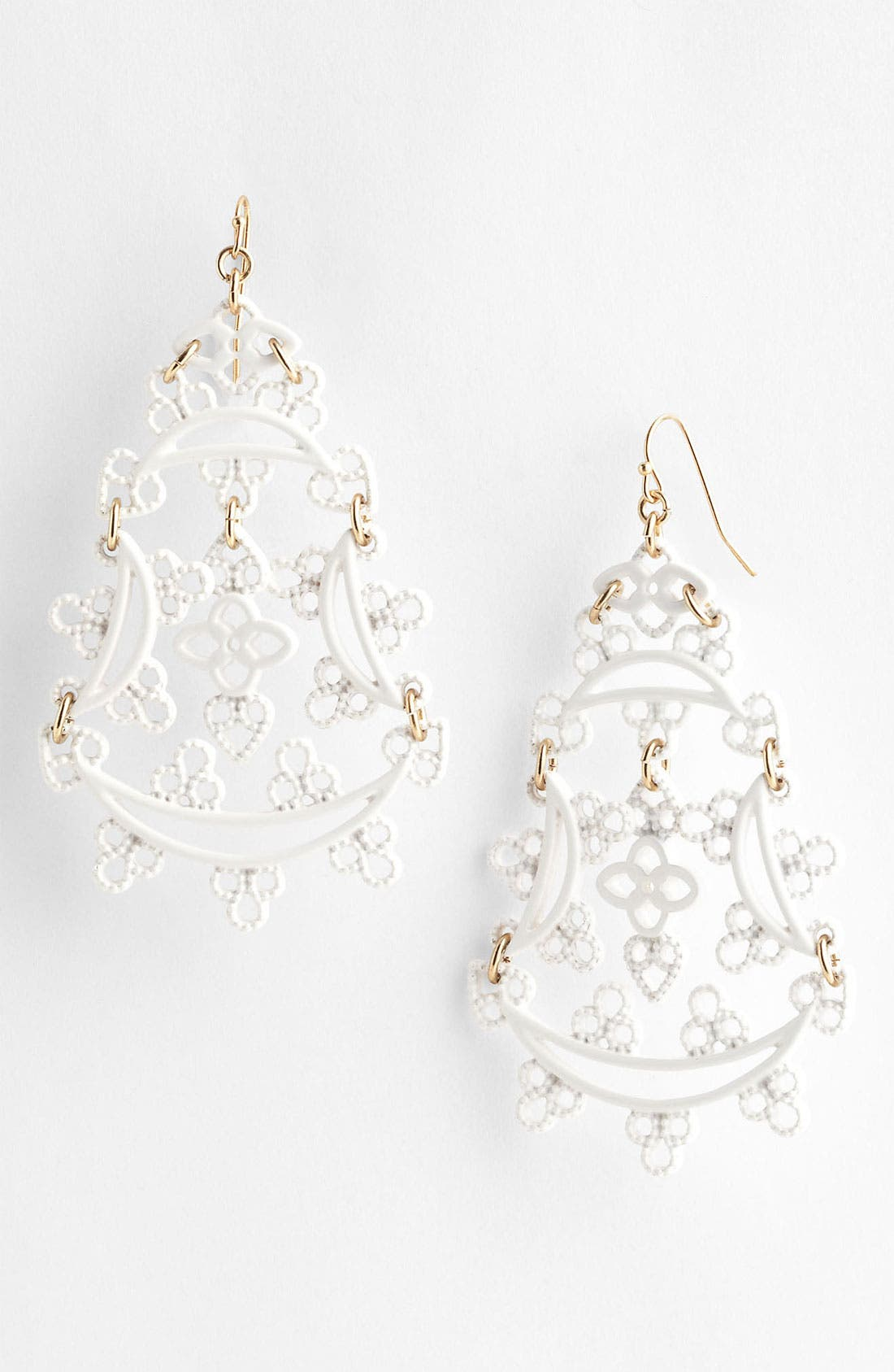 Alternate Image 1 Selected - Jessica Simpson 'Lacey' Earrings