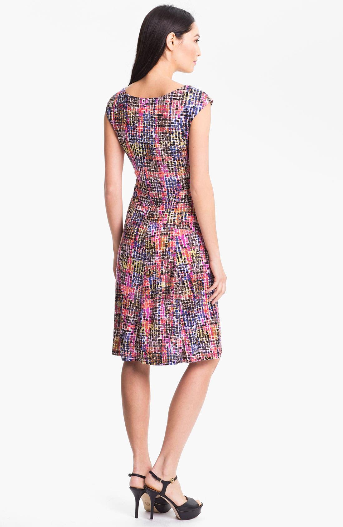 Alternate Image 2  - Nic + Zoe 'Tiny Squares' Dress