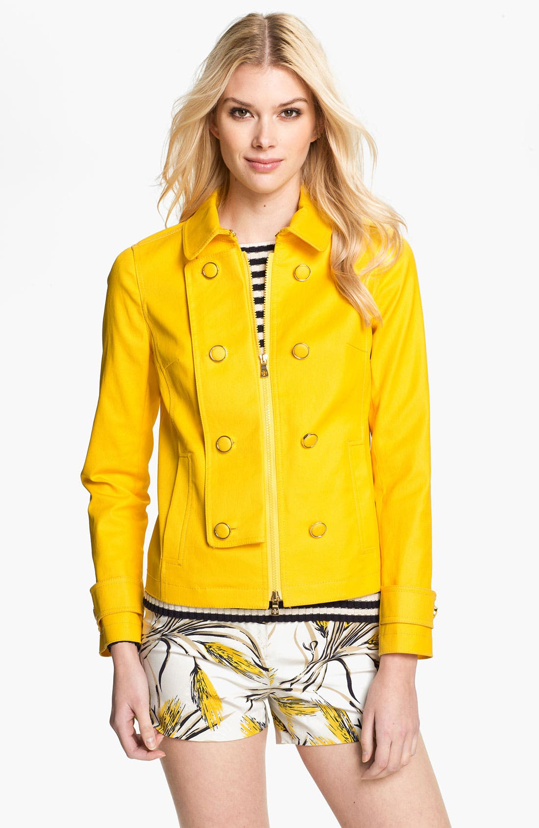 Alternate Image 4  - Tory Burch 'Trent' Jacket