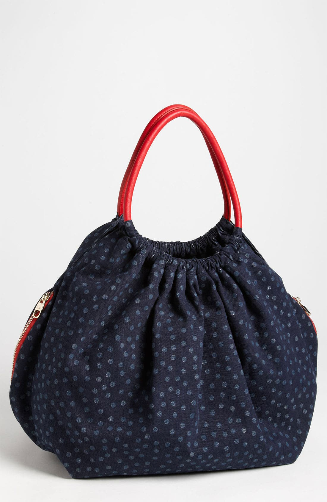 Alternate Image 1 Selected - RED Valentino Denim Hobo