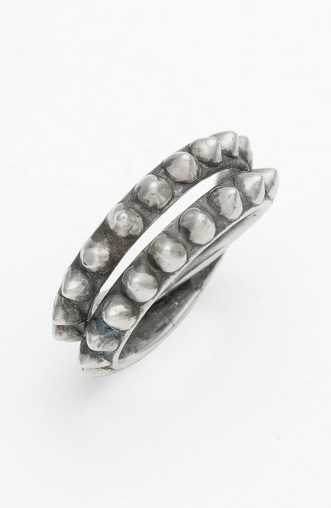 Alternate Image 1 Selected - Tom Binns 'Punk Pavé' Double Wrap Ring