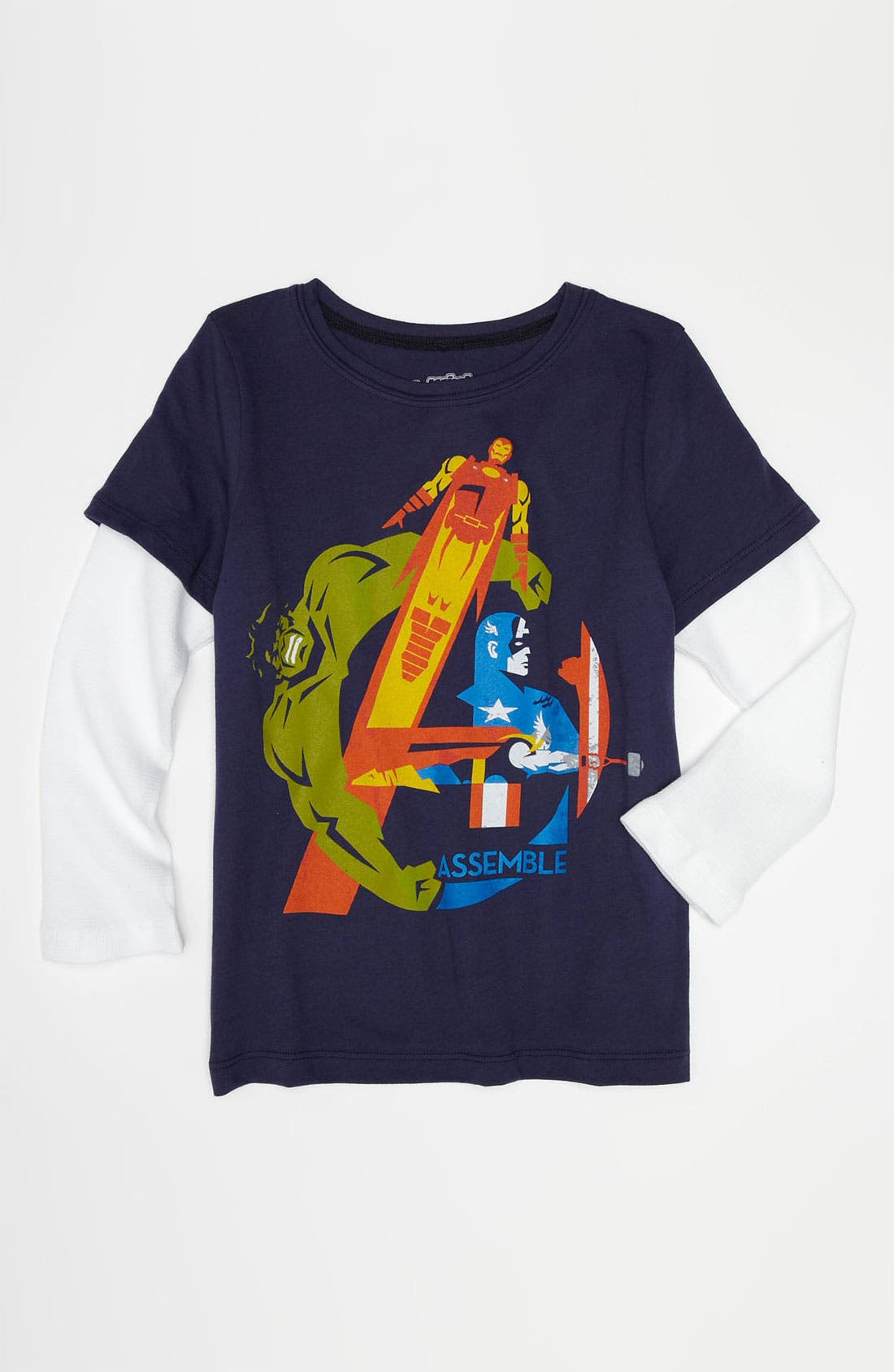 Alternate Image 1 Selected - Mighty Fine 'Assemble' T-Shirt (Little Boys)