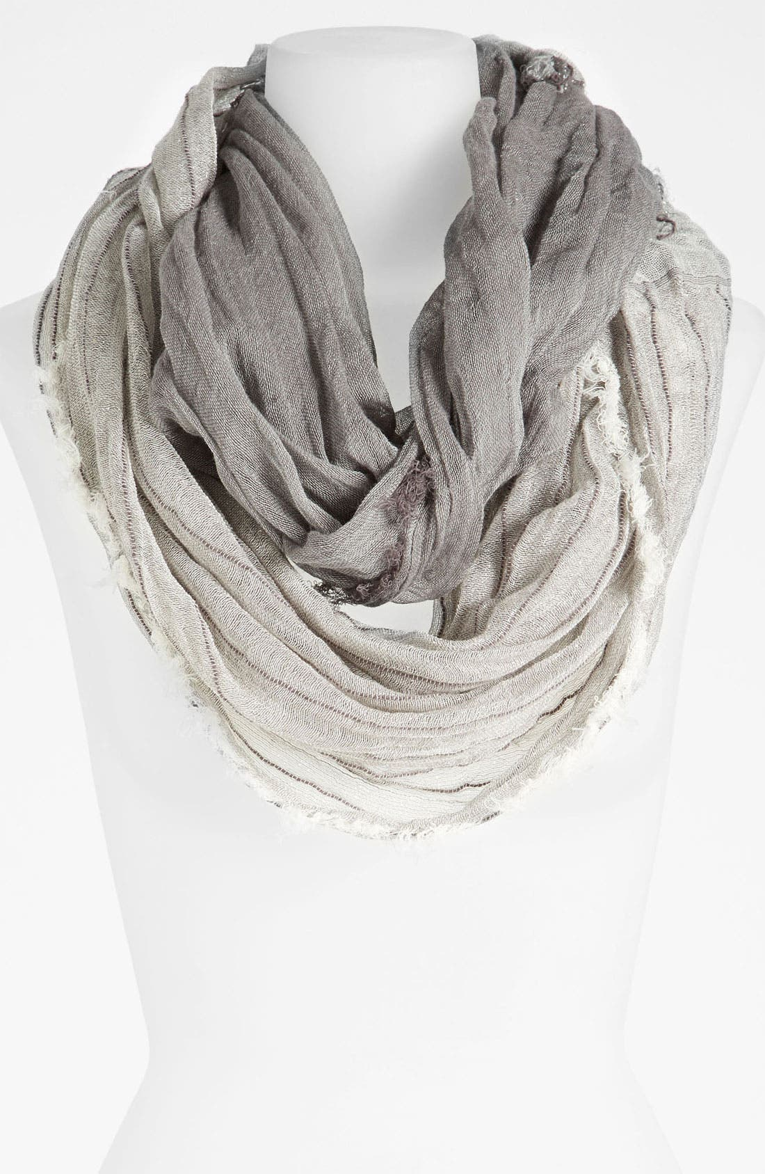 Alternate Image 1 Selected - Eileen Fisher Sparkle Stripe Scarf