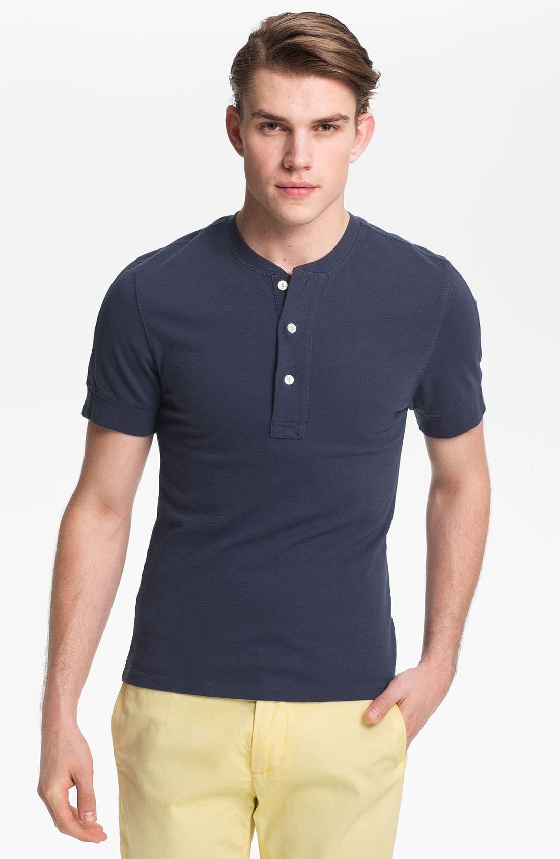 Alternate Image 1 Selected - Jack Spade 'Nolan' Henley T-Shirt