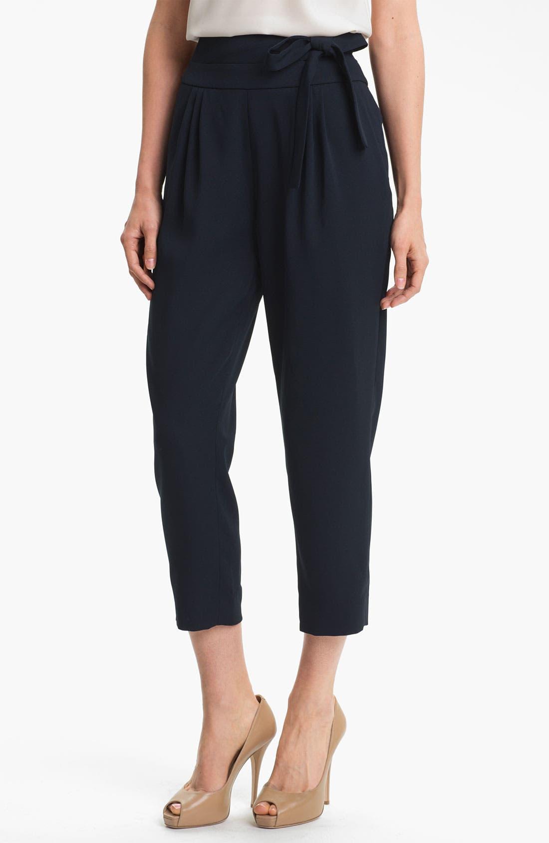 Alternate Image 1 Selected - Diane von Furstenberg 'Keaka' Capri Pants