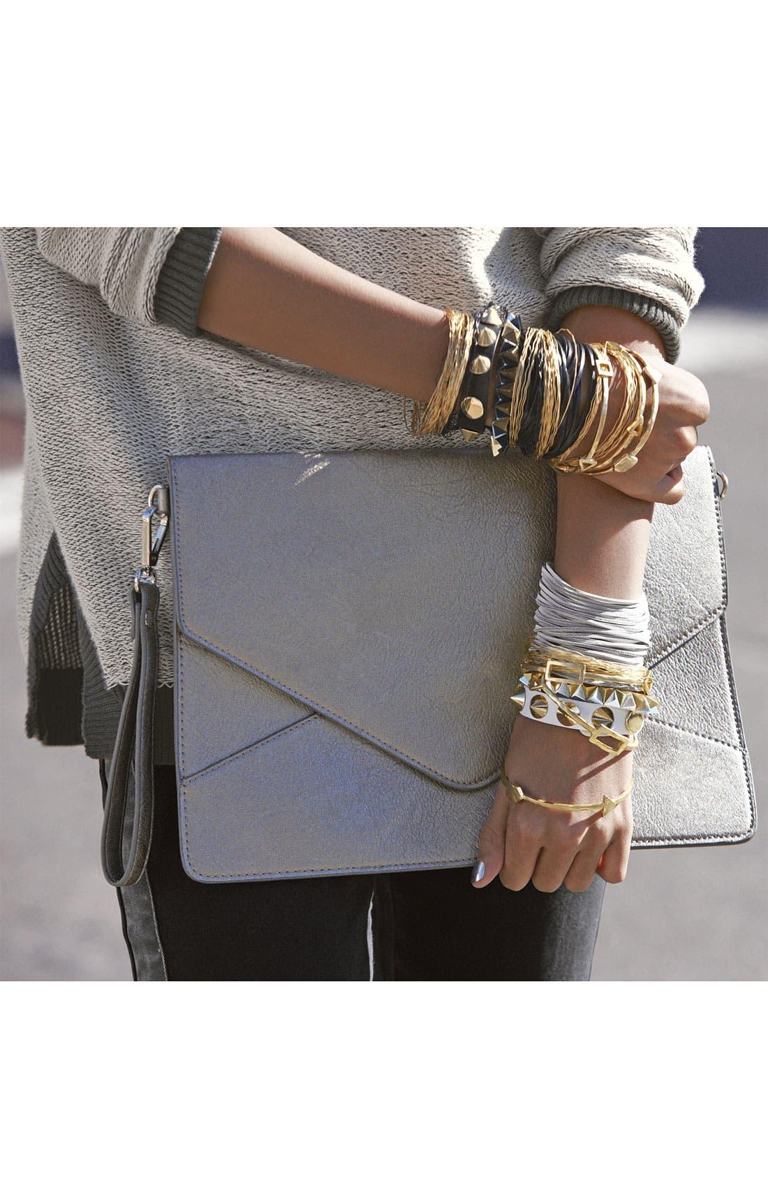 Alternate Image 5  - Cara Pyramid Stretch Bracelet