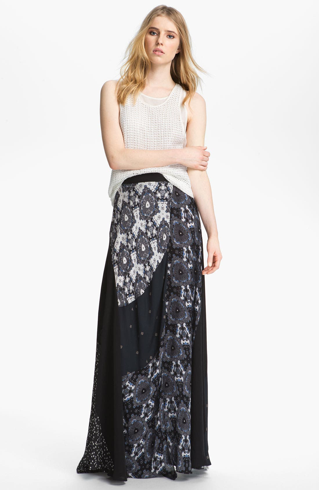 Alternate Image 3  - A.L.C. 'Brixton' Silk Wrap Skirt