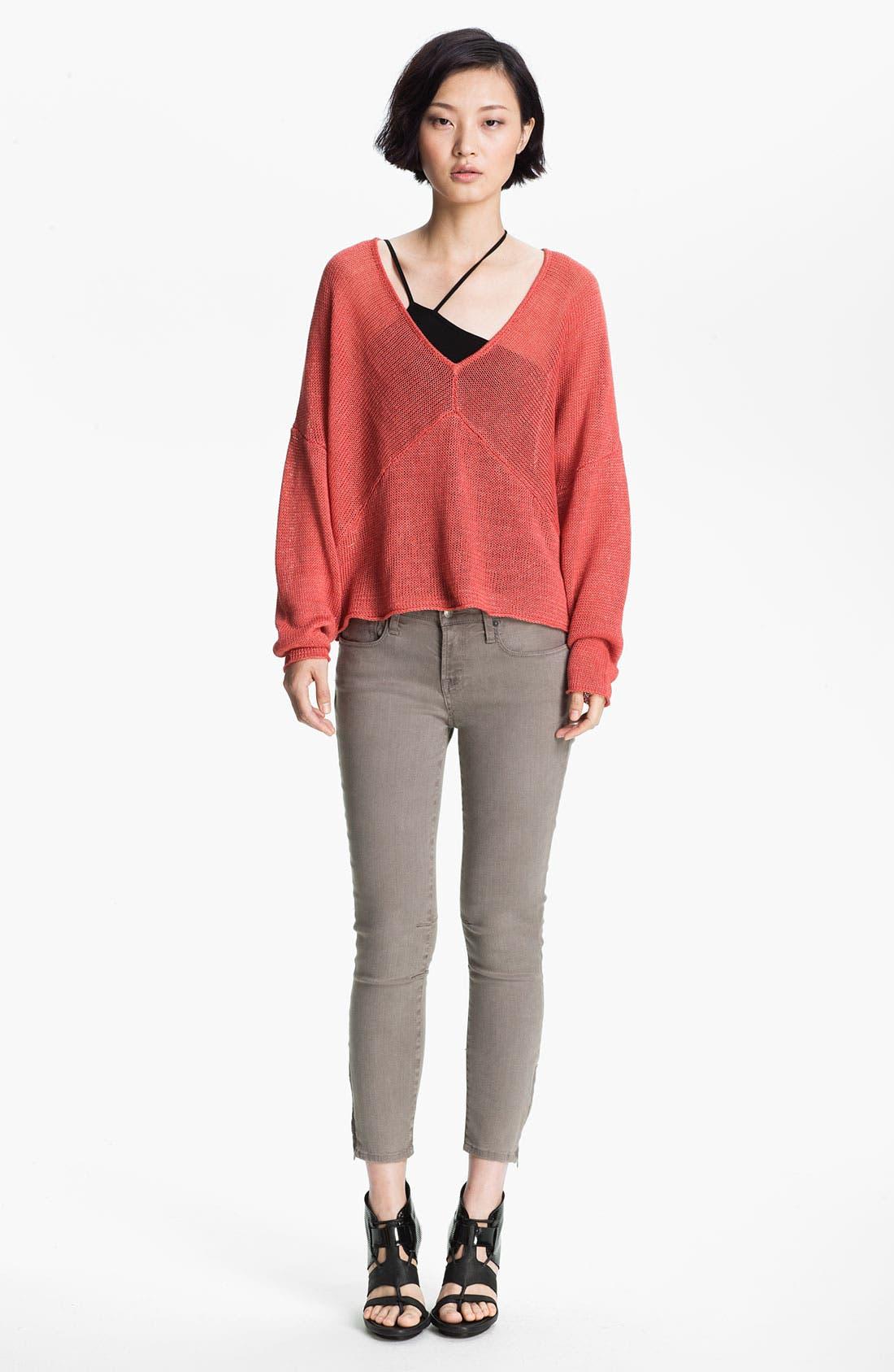 Alternate Image 2  - HELMUT Helmut Lang Linen Sweater