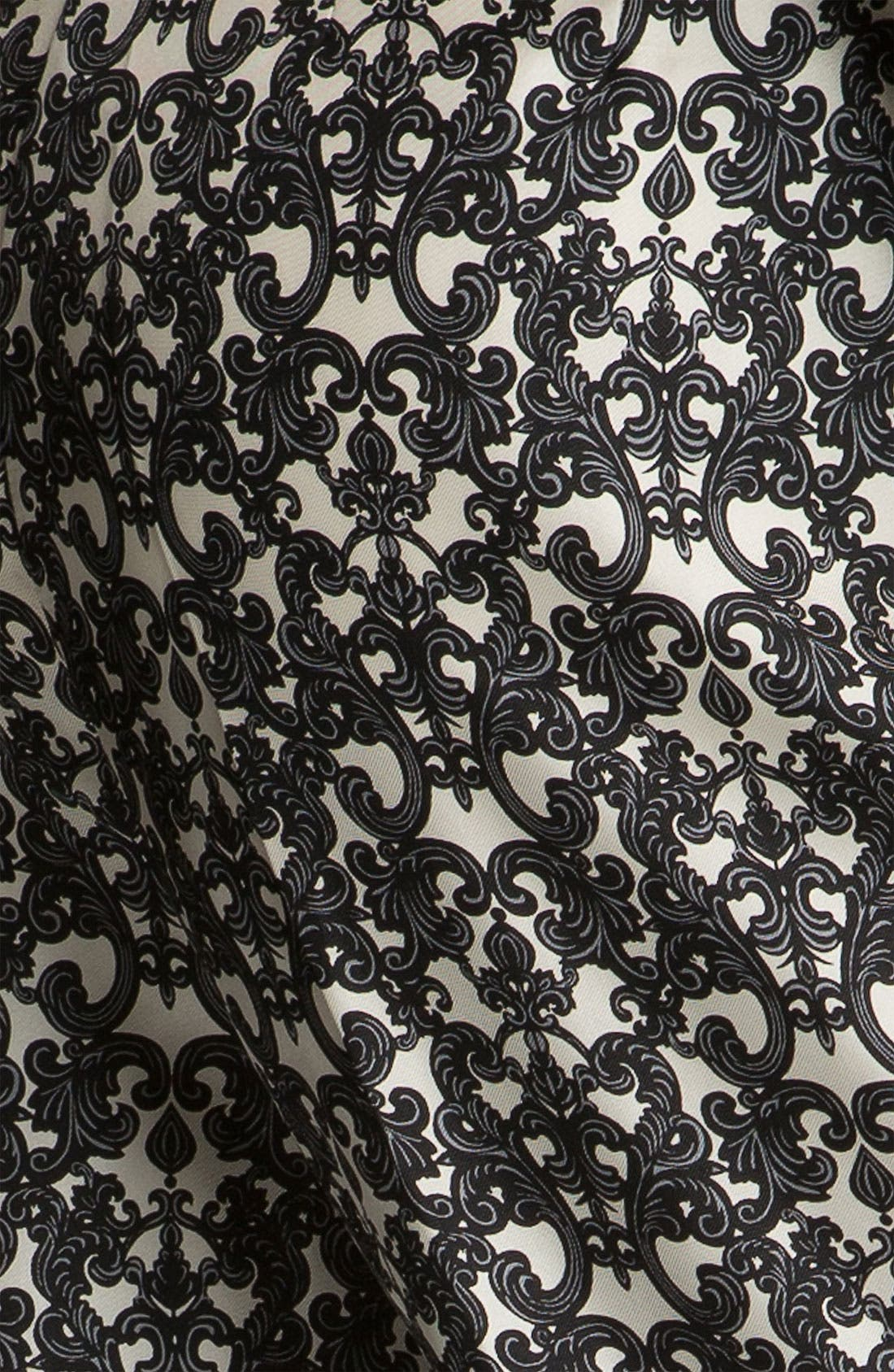 Alternate Image 3  - Robert Rodriguez Filigree Print Silk Trousers