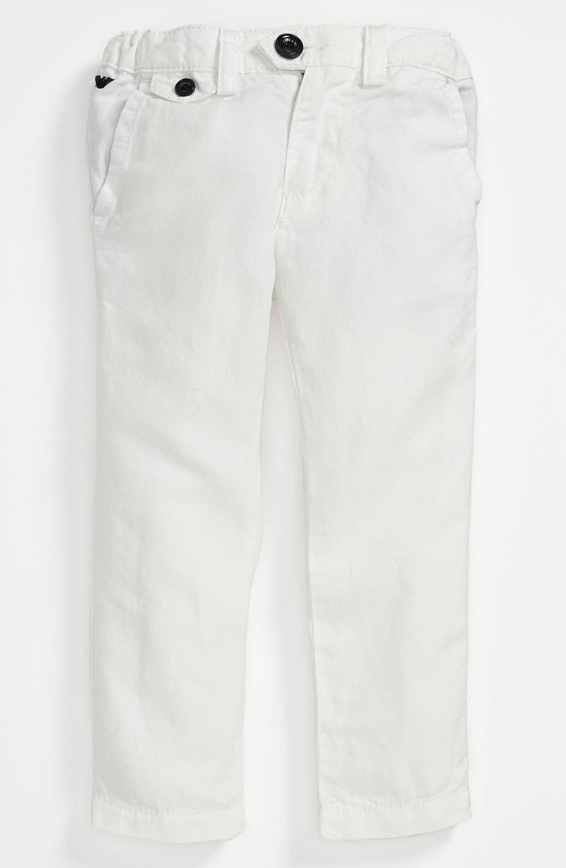 Alternate Image 1 Selected - Armani Junior Pants (Toddler & Little Boys)