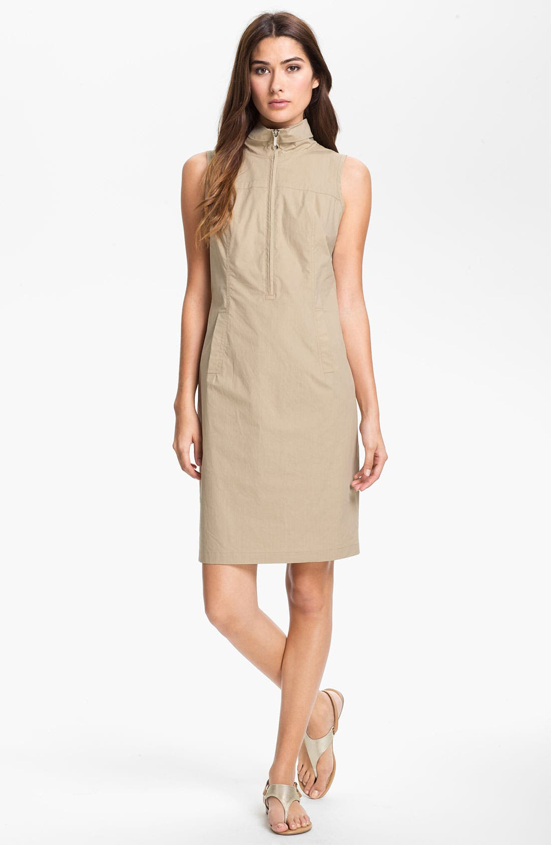 Alternate Image 1 Selected - Lafayette 148 New York Zip Front Dress