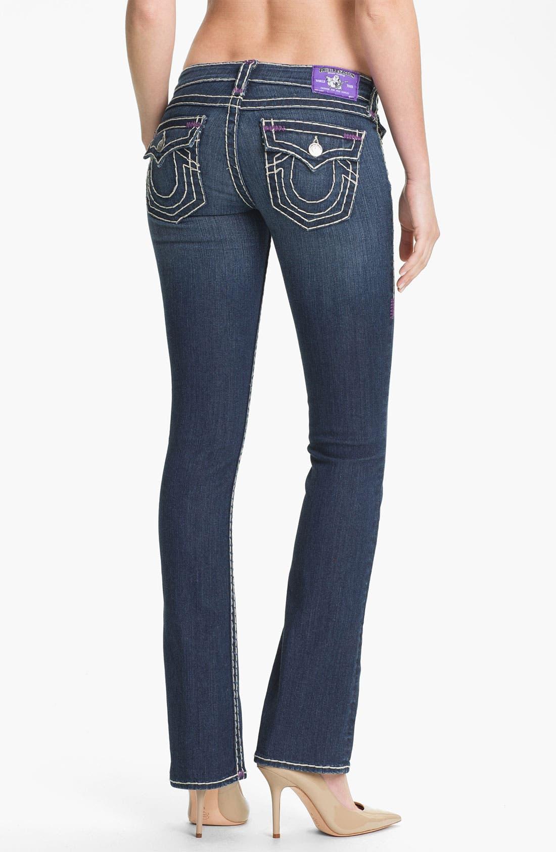 Alternate Image 2  - True Religion Brand Jeans 'Becky' Bootcut Jeans (Memphis)