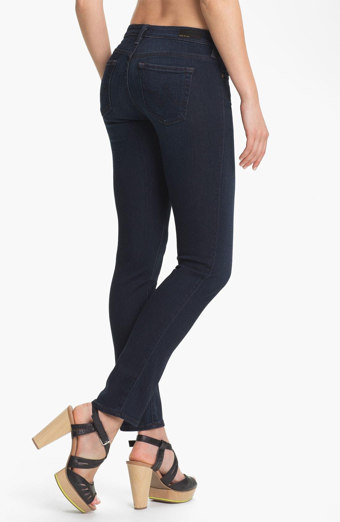 Alternate Image 2  - AG Jeans 'Stilt' Cigarette Leg Stretch Jeans (Jetsetter)