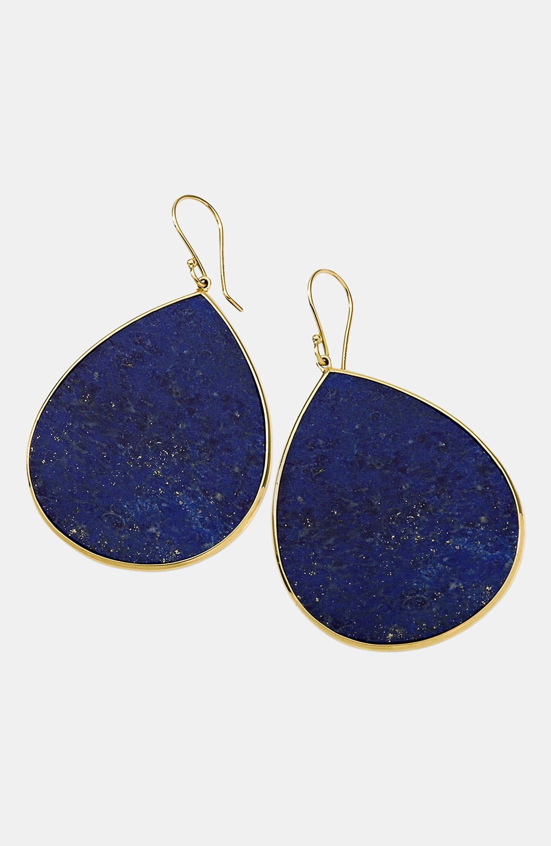 Alternate Image 1 Selected - Ippolita 'Rock Candy - Jumbo Teardrop' 18k Gold Earrings
