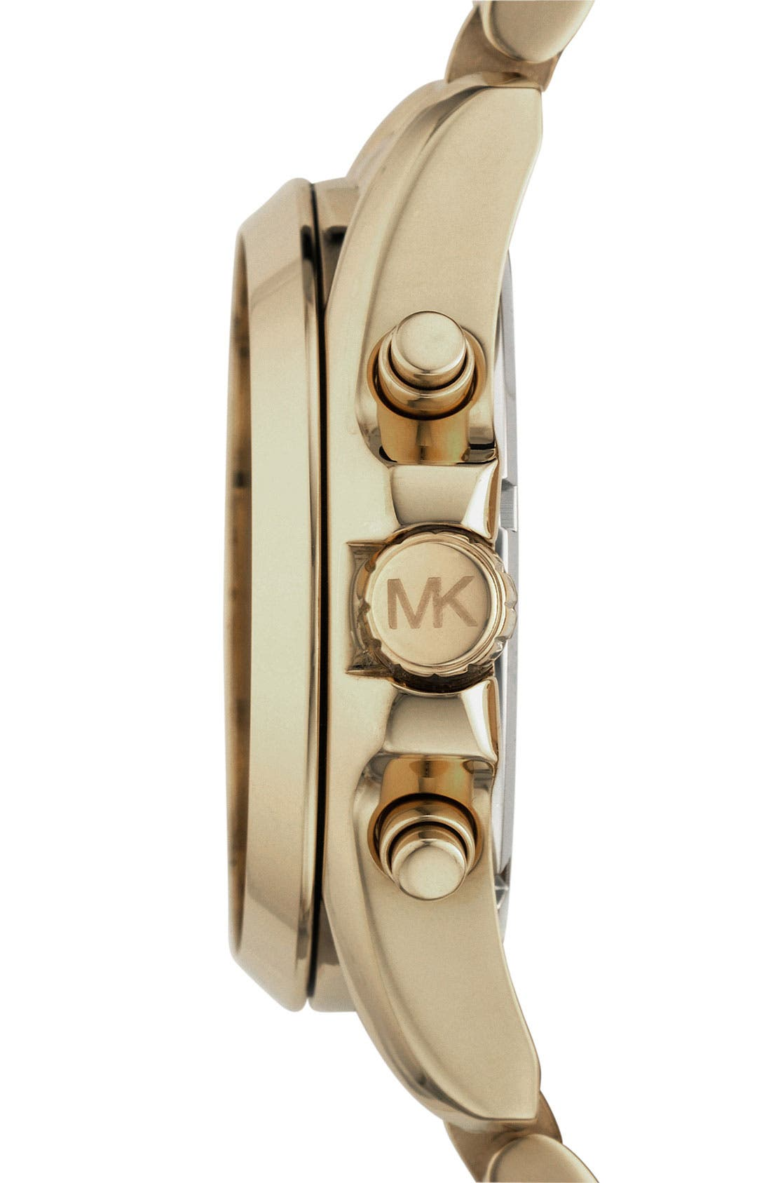 Alternate Image 3  - Michael Kors 'Bradshaw' Chronograph Bracelet Watch