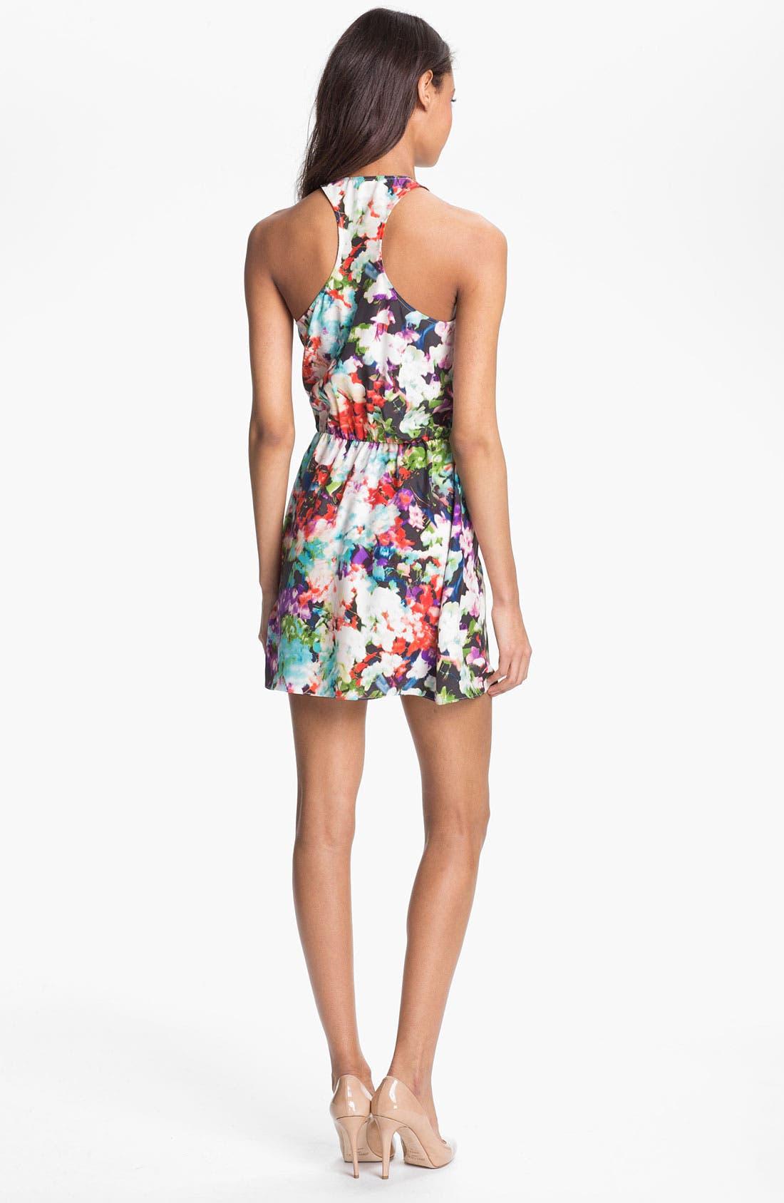Alternate Image 2  - Parker Surplice Silk Dress