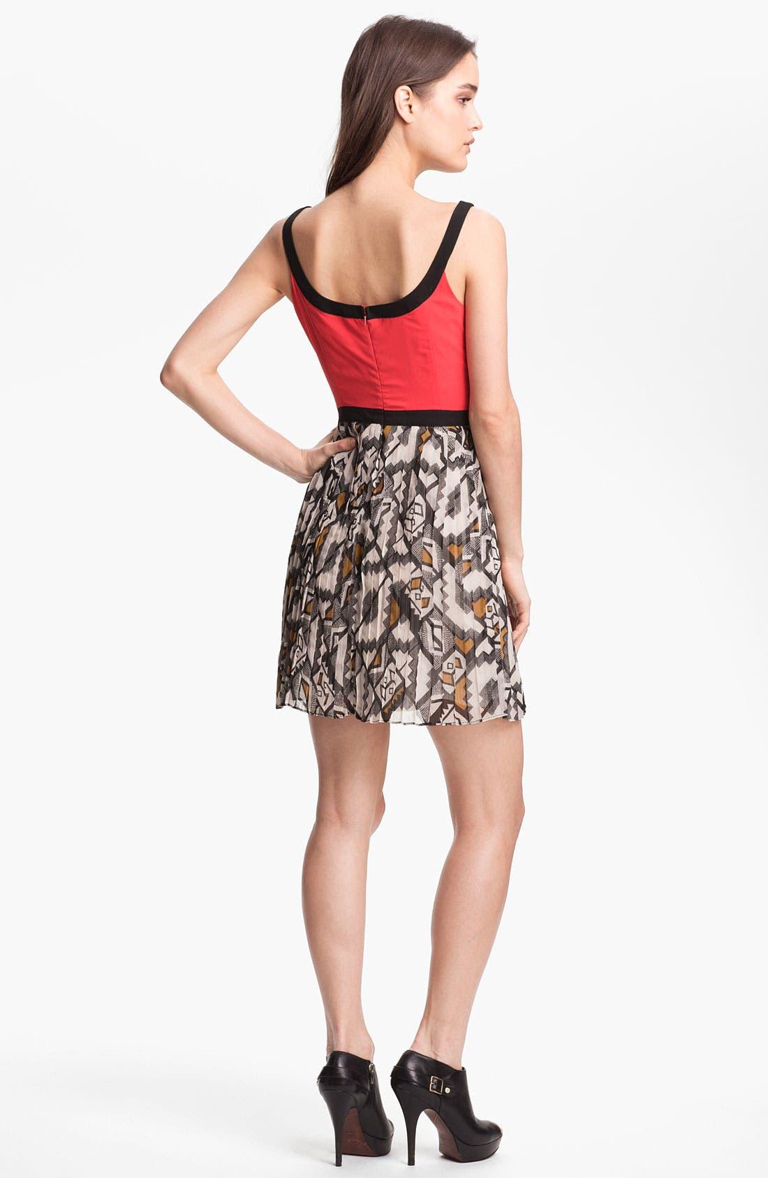 Alternate Image 2  - BB Dakota 'Pfeiffer' Fit & Flare Dress