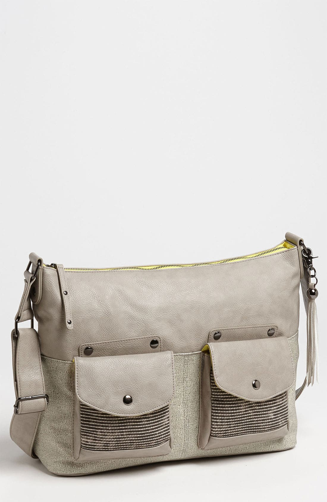 Alternate Image 1 Selected - POVERTY FLATS by rian 'Dueling Pocket - Large' Crossbody Bag