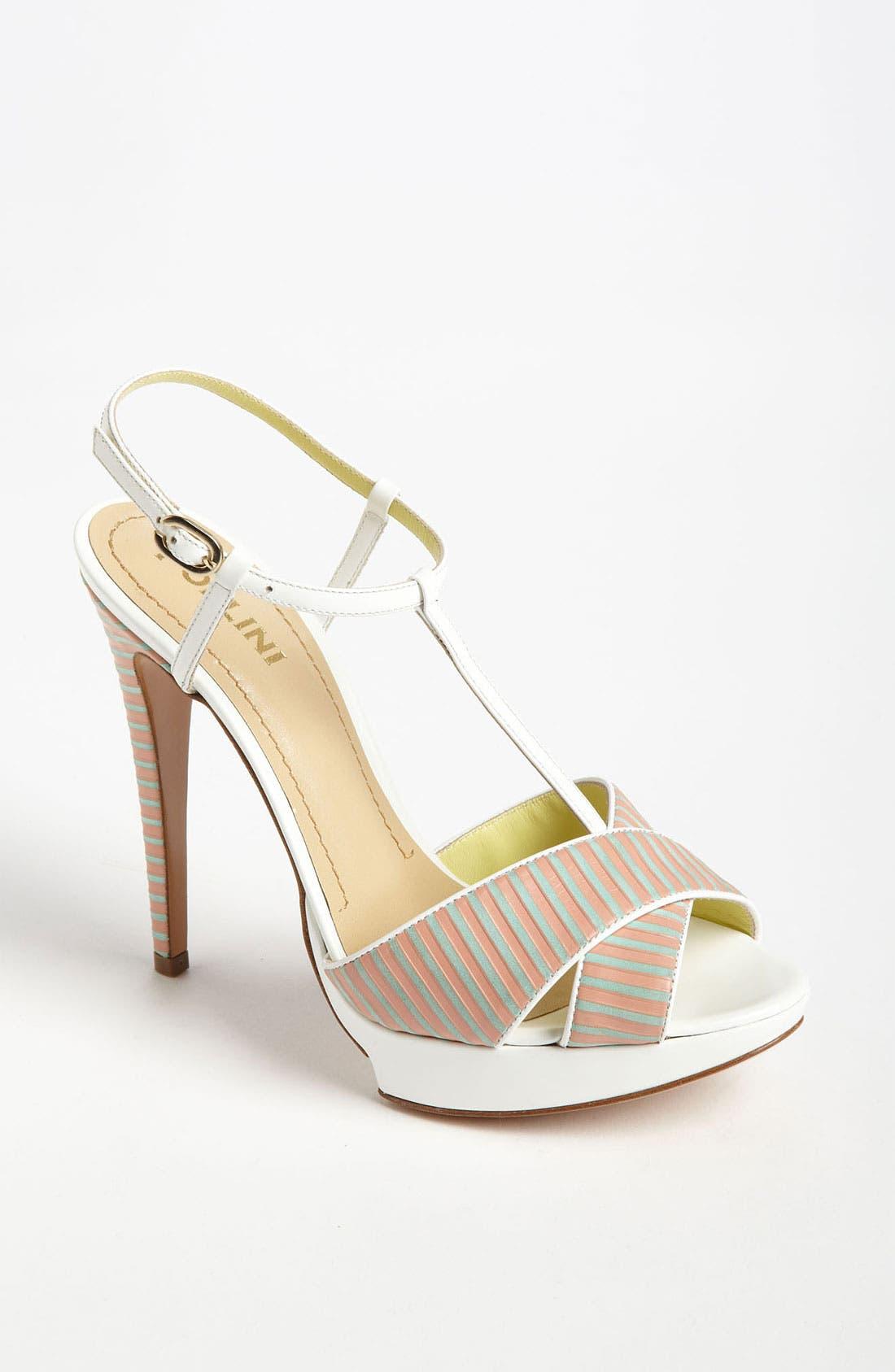 Alternate Image 1 Selected - Pollini Stripe Sandal