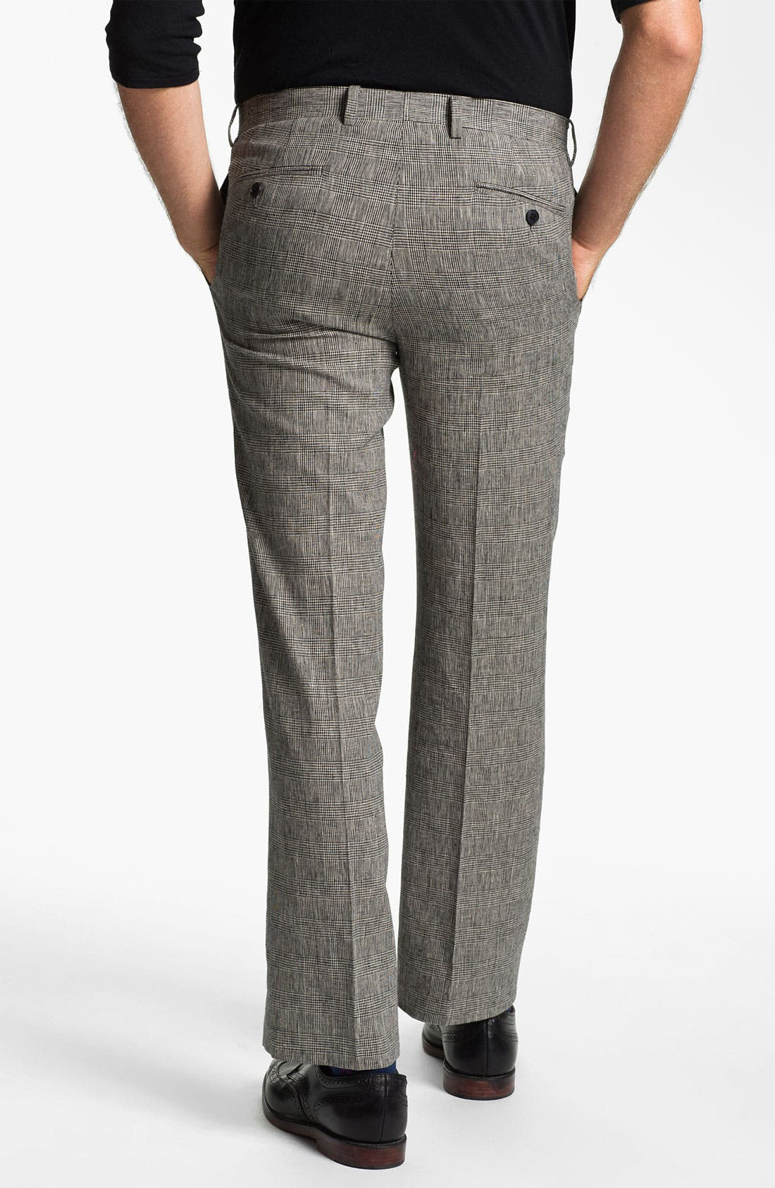 Alternate Image 2  - John Varvatos Star USA Glen Plaid Trousers