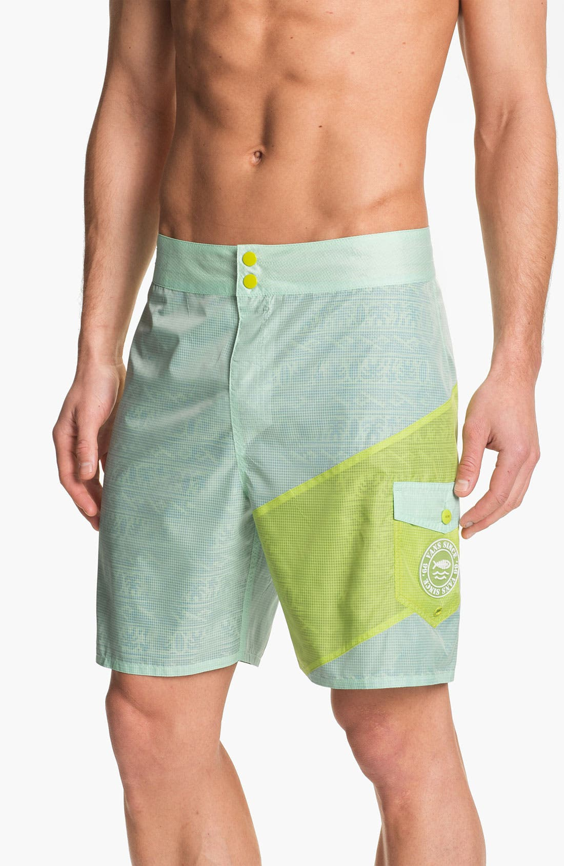 Main Image - Vans 'Slasher' Reversible Board Shorts