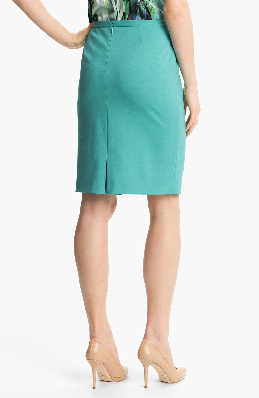 Alternate Image 2  - Elie Tahari 'Kim' Jersey Skirt