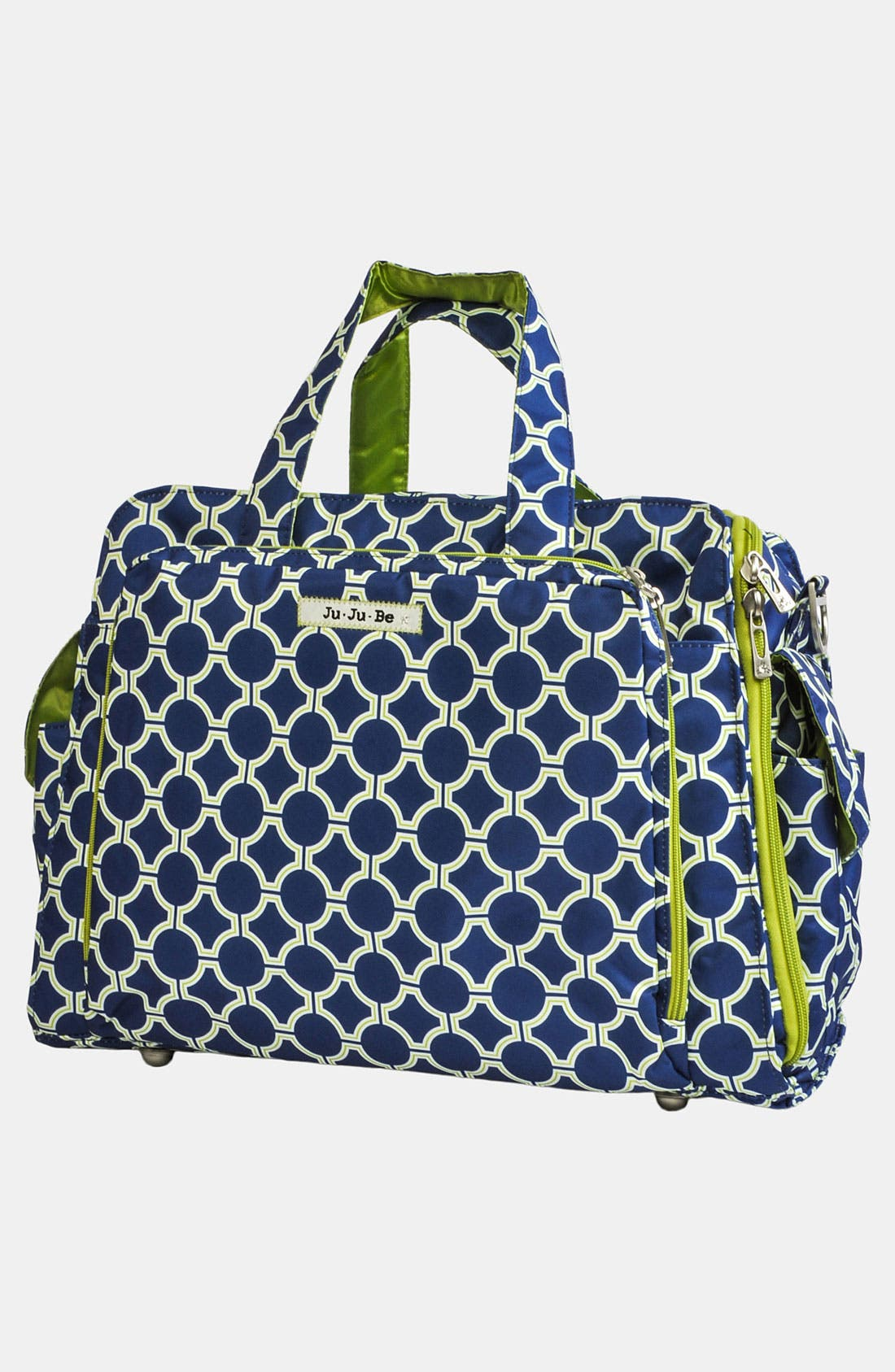 'Be Prepared' Diaper Tote,                             Alternate thumbnail 3, color,                             Royal Envy