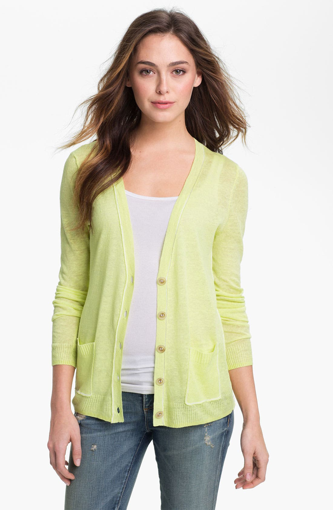 Main Image - Caslon V-Neck Cardigan