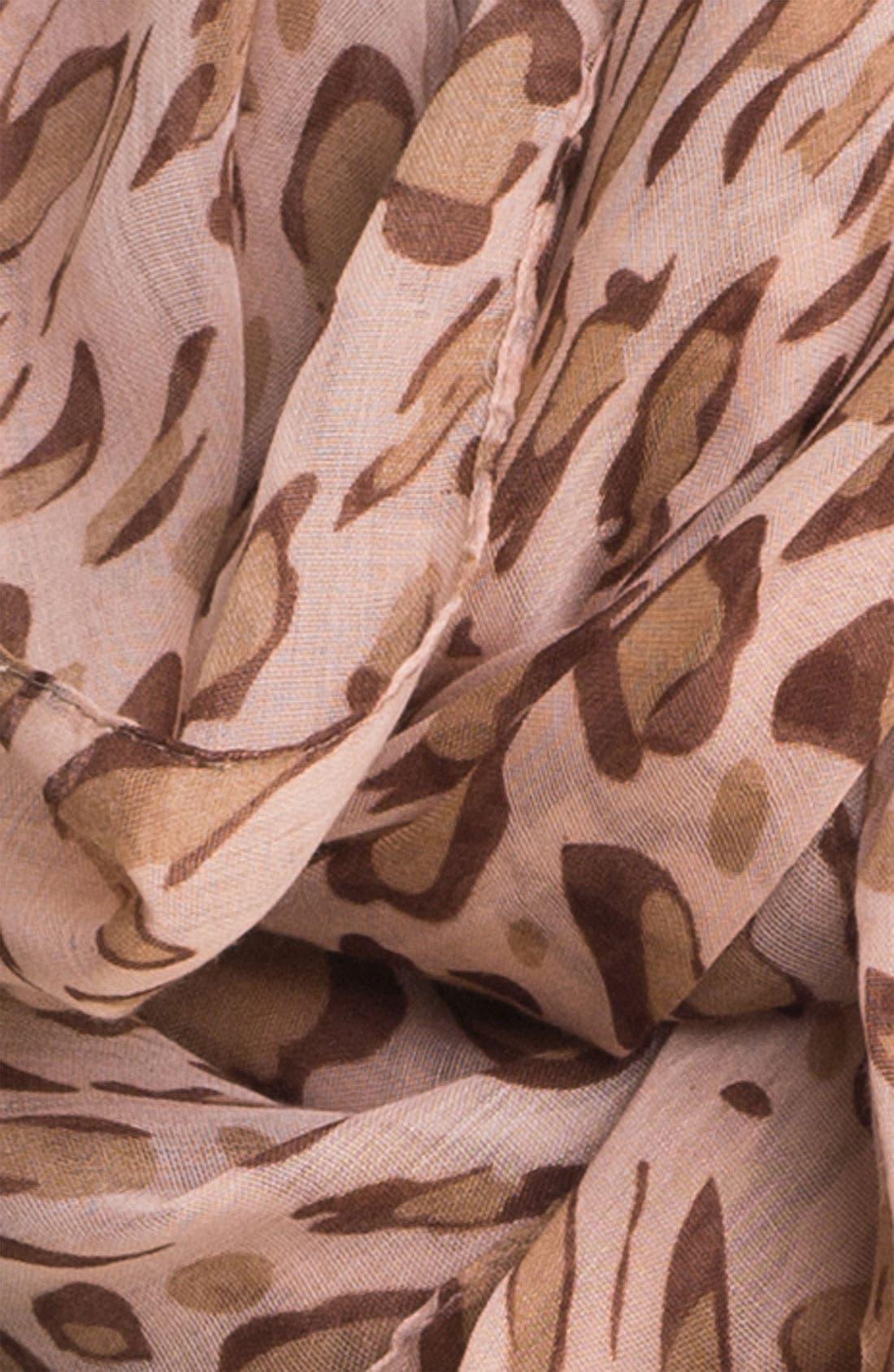 Alternate Image 2  - Tasha Spotted Leopard Infinity Scarf