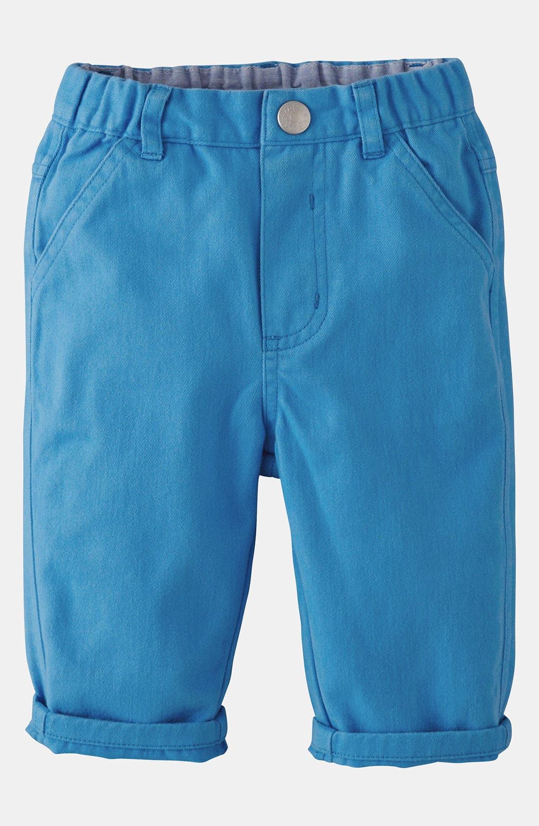 Main Image - Mini Boden 'Baby' Chino Pants (Baby)