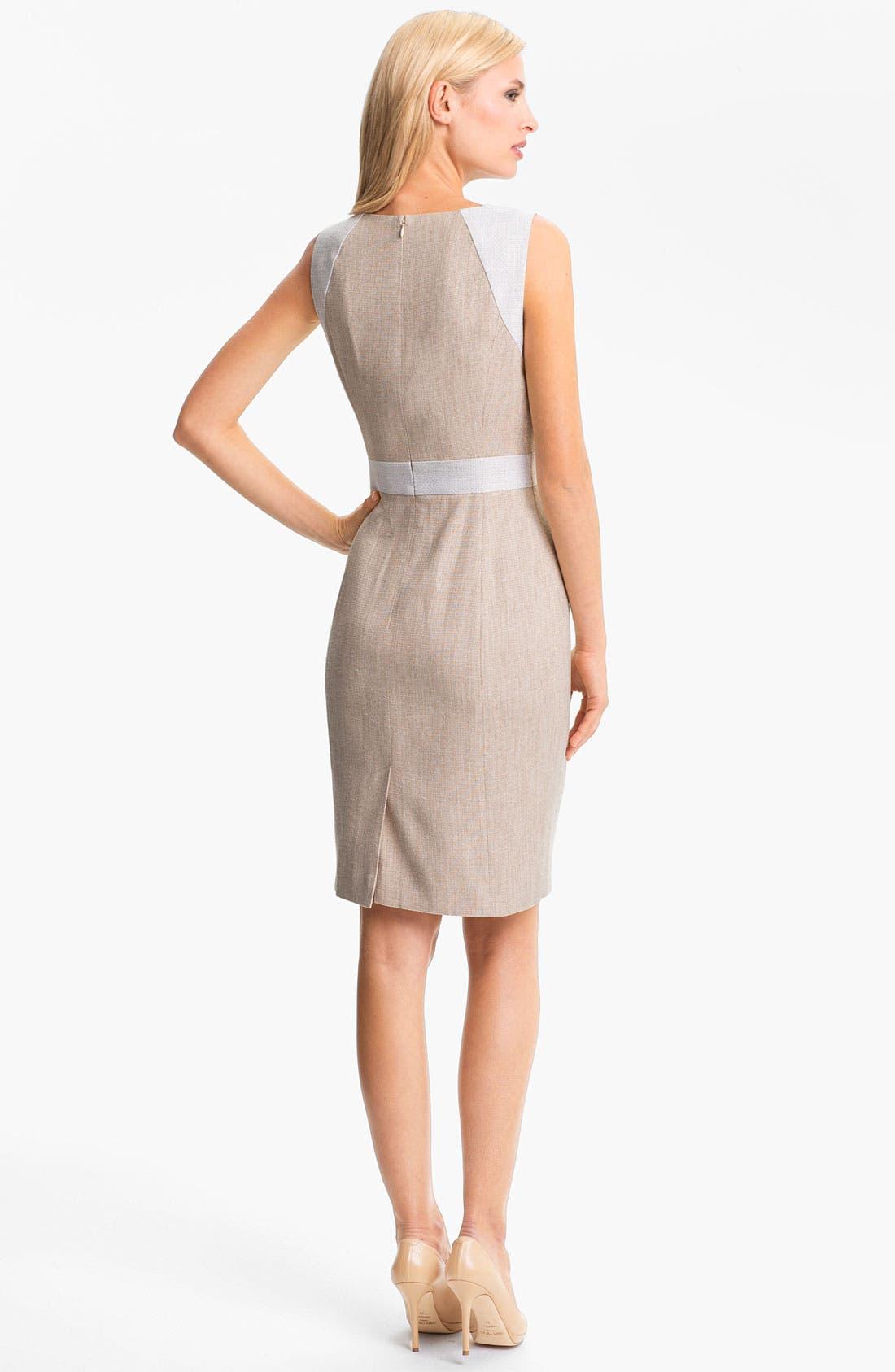 Alternate Image 2  - Classiques Entier 'Sabin' Tweed Dress