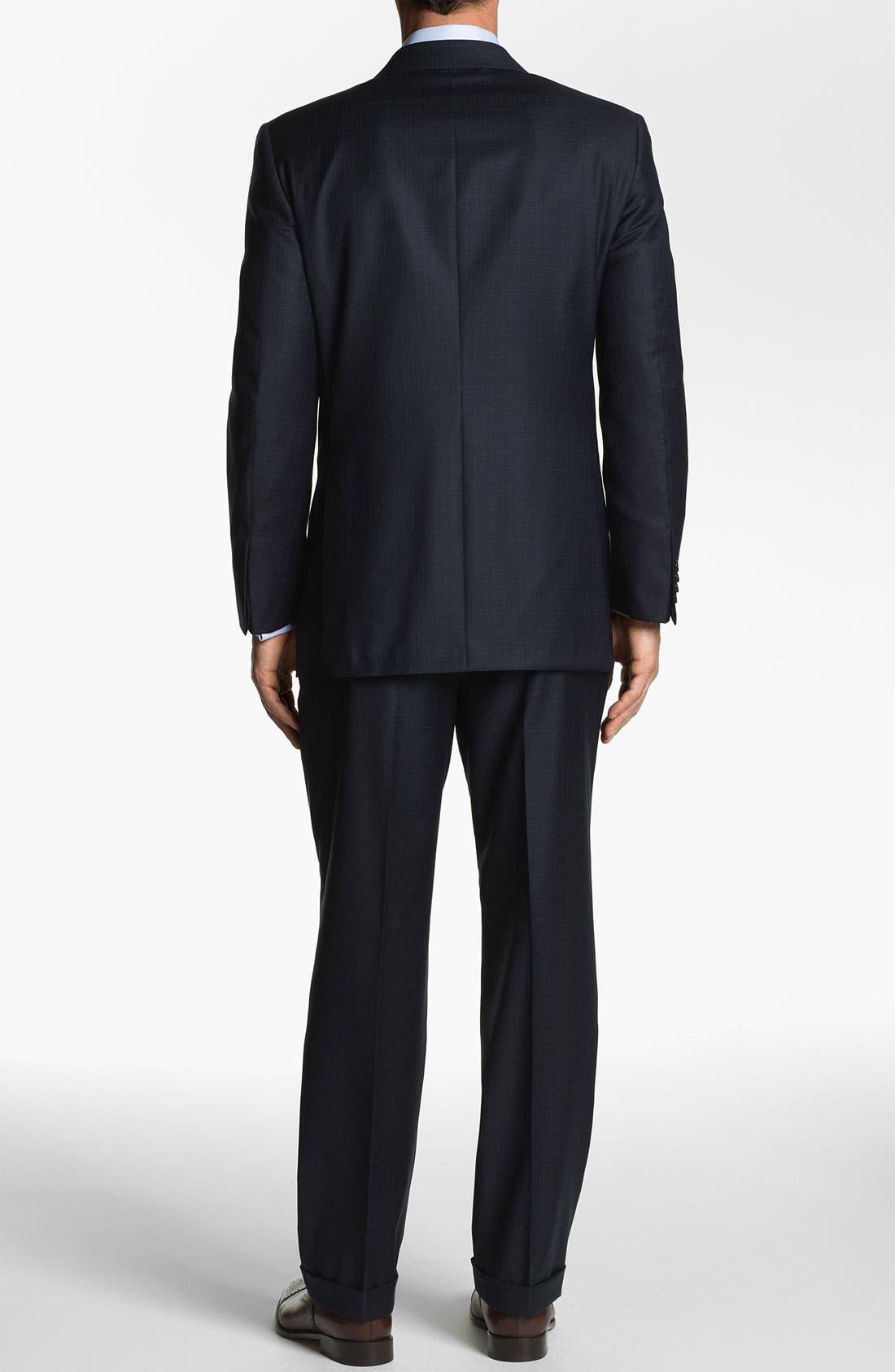 Alternate Image 3  - Hickey Freeman 'Addison' Check Suit