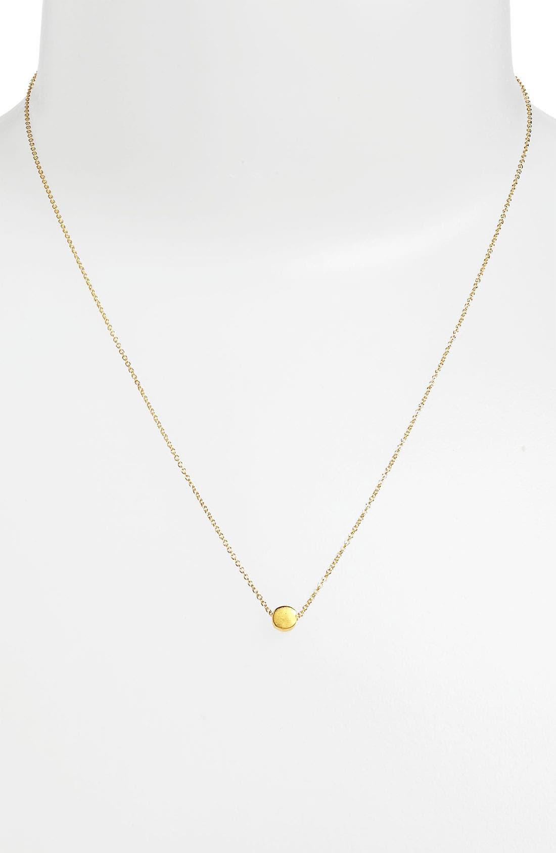 Alternate Image 2  - Dogeared 'Reminder - The Circle' Pendant Necklace